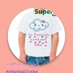 Camisas infantil ou kit família