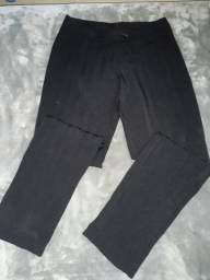 Calças social preta e marrom femininas