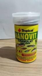 Ração Tropical Nanovit granulat 70g