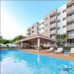 Apartamento com 2 dormitórios à venda, 47 m² por R$ 155.500 - Messejana