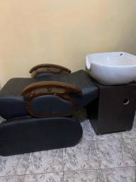 Vendo lavatório de salão de beleza
