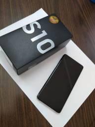 Smartphone Samsung Galaxy S10 128gb Branco 4g Octa-core