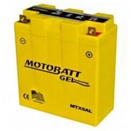 Bateria de moto amarela