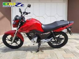 Honda CG 160 Fan 2019 Vermelha com 53.000 km