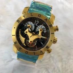 Relógio bvlgari automático