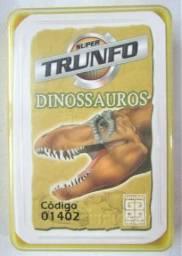Jogo Super Trunfo Coleção Dinossauros Grow