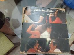 LP Chico Buarque e Maria Bethania - Ao vivo 1975