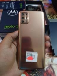 Moto g9 plus bronze ultimo lançamento top de mais na caixa com 1 ano de garantia