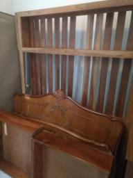 Cama Casal de madeira