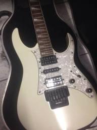 Título do anúncio: guitarra ibanez rg 350dx coreana com case kgb