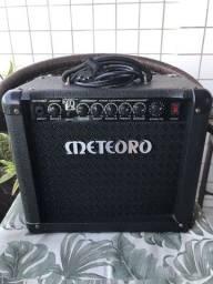 Título do anúncio: Amplificador de Guitarra Meteoro Nitrous NDE15 c/ 16 efeitos