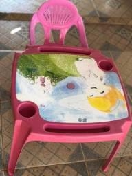 Título do anúncio: Jogo de mesinha e cadeira infantil