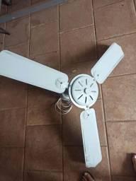 Título do anúncio: Ventilador de teto 3 pás, 127V, 127W, sem luminaria