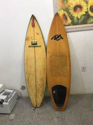 2 pranchas - uma autografada . Rico surf