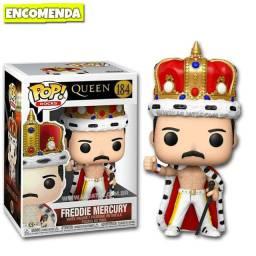 Pop Funko Freddie Mercury Queen Coroa Rainha Bohemian Rhapsody - Entrega Gratis!