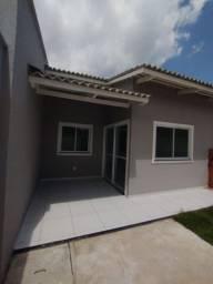 Casa com 3 quartos e 2 banheiros - Pronta