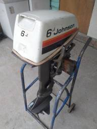 Título do anúncio: Motor popa Johnson 6 hp valor 2.400