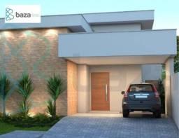 Casa com 3 dormitórios (1 suíte) à venda, 115 m² por R$ 680.000 - Residencial Aquarela Das