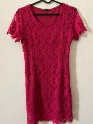 Título do anúncio: Vestido Renda Pink