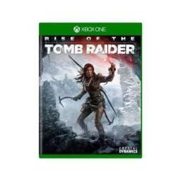 Rise of the Tomb Rider Xbox one semi novo.