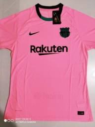 Título do anúncio: Camisa Barcelona Third - Jogador - Nike 20/21 - Tamanhos: P, M, G