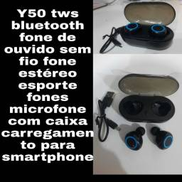 Título do anúncio: Y50 fone sem fio via bluetooth