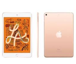 Título do anúncio: iPad Mini 5 256gb Wi-Fi + Celular Dourado novo