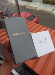 Poco X3 pro 6gb ram 128gb armazenamento, melhor custo benefício, aceito cartão
