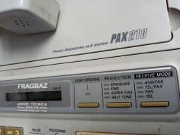 Fone Fax com Secretaria Eletrônica