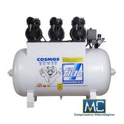 Título do anúncio: Compressor De Ar Odontológico Silencioso Fiac - Cosmos -100 Litros 220v