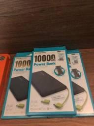 Bateria Externa Power Bank Pineng Slim Original 10000mah