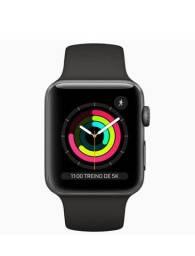 Título do anúncio: Apple Watch 3 42mm preto. Garantia Apple até 01/08/2022
