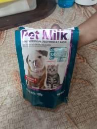 Doação Pet Milk (simula leite da cadela)