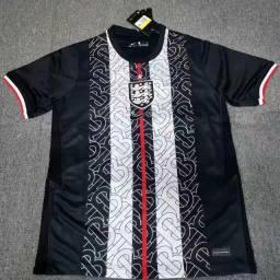 Camisa Inglaterra Black 20/21 Masculina