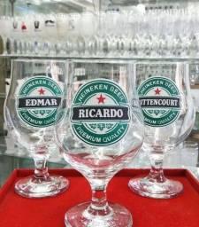 Título do anúncio: Taça de vidro personalizada