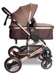 Carrinho de bebê 3x1 LUXO