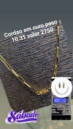 Cordão em ouro 10.31