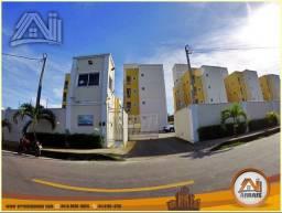 Título do anúncio: Apartamento com 3 dormitórios à venda, 77 m² por R$ 250.000 - Guaribas - Eusébio/CE