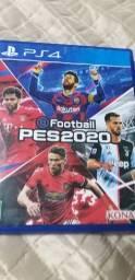 PES 2020 do PS4 - mídia física - analiso trocas