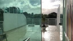 Título do anúncio: Cobertura 4/4 com 2 suítes frente Rio- Paraíso