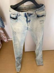 Calça jeans clarinha