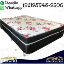 Título do anúncio: cama casal box \\ espuma \\ entrega grátis $$$