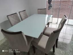Título do anúncio: Sofá e mesa juntos (leia )