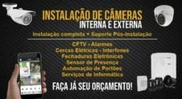 Título do anúncio: Instalação e manutenção, Câmeras de segurança, alarme e muito mais !!!