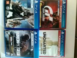 Jogos PS4 estado de novo
