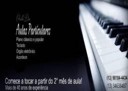 Título do anúncio: Aulas de música.