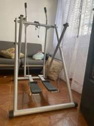 Vendo simulador de caminhada, aparelho para casa e academia