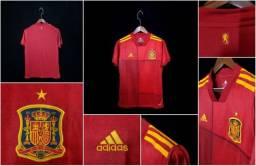 Camisa De Futebol Novo Oficial,uniforme I Seleção Da Espanha