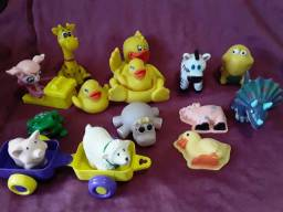Brinquedos duráveis em borracha por R$ 20,00