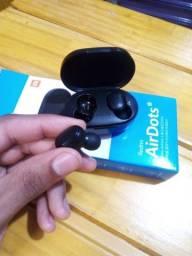 Título do anúncio: Fone De Ouvido Bluetooth Sem Fio Redmi Airdots Preto